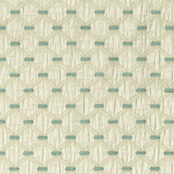 Olympus Agra - China Blue Fabric by Jim Dickens (Olympus Agra-China Blue)