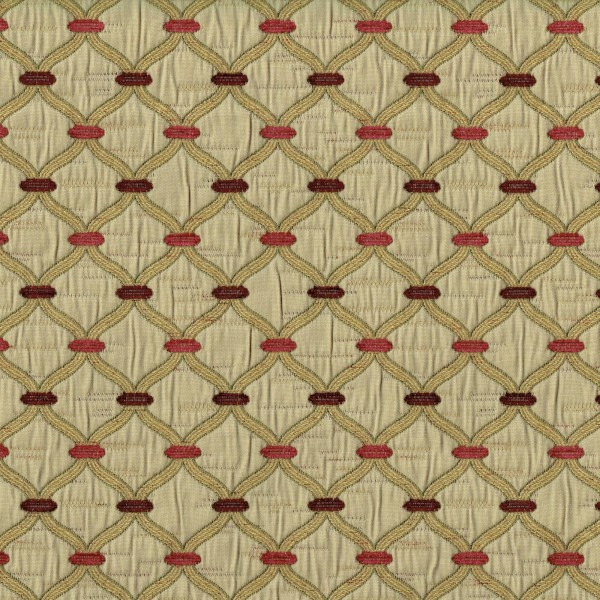 Olympus Agra - Cranberry Fabric by Jim Dickens (Olympus Agra-Cranberry)