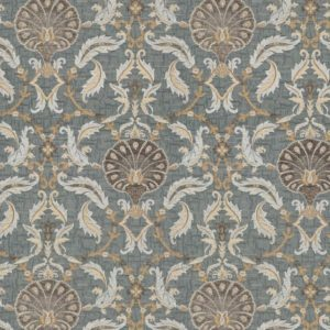 Ottoman - Gold Dust Fabric by Jim Dickens (Ottoman-Gold Dust)
