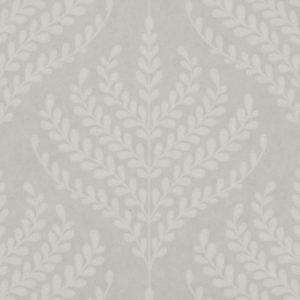 Paisley Fern - Pewter Wallpaper by Liberty (5059419796849)