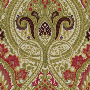Persia - Loganberry Fabric by Jim Dickens (Persia-Loganberry)