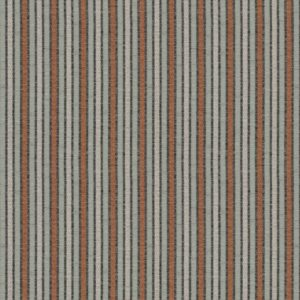 Pinstripe - Smoked Coral Fabric by Jim Dickens (Pinstripe-Smoked Coral)