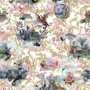 Reveries - Tomette Fabric by Christian Lacroix (FCL7008/02)