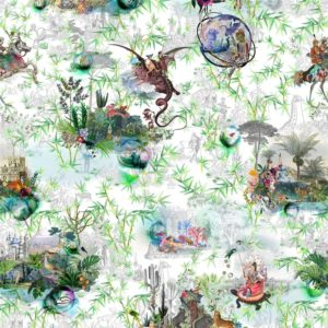 Reveries - Vert Buis Fabric by Christian Lacroix (FCL7008/01)
