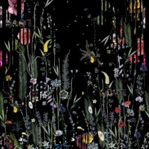 Babylonia Nights Panoramic Crepuscule Wallpaper by Christian Lacroix (PCL7020/01)